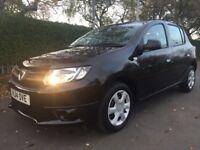Dacia Sandero Ambiance 1.2 16v 75 (black) 2014