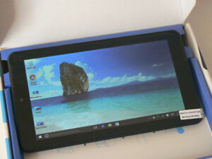 """7"""" Windows 10 Tablet with HDMI Quad Core New open box"""