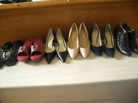 Various Women's Shoes and Boots Size 9, 9.5 and 10 EUC