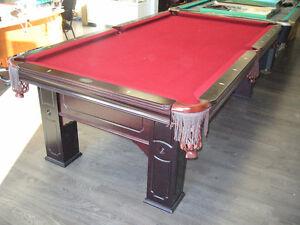 Table de billard 4 par 8 Bellagio
