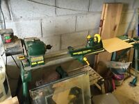 Record power wood lathe
