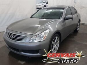 Infiniti G 37 Luxury AWD Cuir Toit Ouvrant MAGS 2009