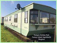 EASTGATE: FANTASY ISLAND, INGOLDMELLS: 2-bed Static Caravan for Holiday Lets