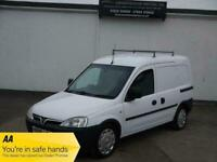 08 VAUXHALL COMBO 2000 1.3 CDTI E4 ROOF RACK SIDE DOOR WHITE PANEL VAN £1995