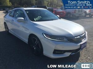 2016 Honda Accord Coupe Touring  LEATHER, BLUETOOTH, PUSH BUTTON