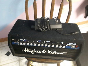 Hughes and Kettner Attax 100 Head for Bass Amp