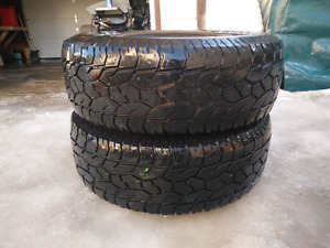 All-Terrain Tires 275-70-R17 NEED GONE