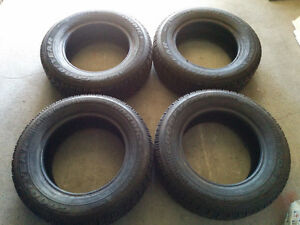 (4) X GOODYEAR NORDIC WINTER TIRES - 175/70/13