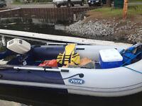ZODIAC brand new with 10 hp Honda outboard