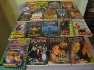 FOR SALE GOOSEBUMPS BOOKS AND OTHER R.L. STINE BOOKS