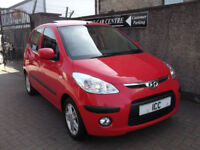 2011 HYUNDAI I10 STYLE 1.2 5DR £30 TAX GLASS PANROOF A/C ALLOYS FSH LOW INS