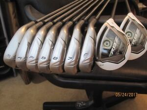TAYLORMADE RBZ IRONS/HYBRID  R/H COMBO SET (9 clubs)