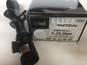 Bushnell 6-24 with Illuminated BTR-Mil reticle (ET6245FJ)