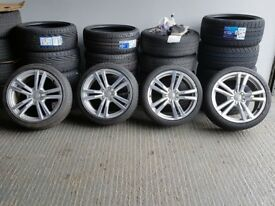 "18"" Genuine Audi A3 S-Line Alloy Wheels for a Audi A3 MK2 and MK3 ETC"