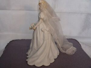Music Box Bride Holding Flowers Figurine London Ontario image 4