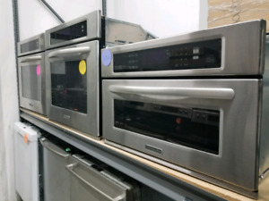 KITCHENAID BUILT-IN MICROWAVE & WALL OVEN