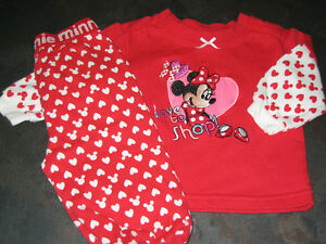 Girl's 3/6 months (Disney) 2pcs outfit
