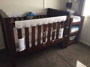 Cot & Change Table West Hoxton Liverpool Area Preview