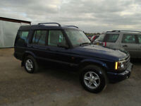 2003 53 Reg Land Rover Discovery 2.5Td5 ( 7 seats ) S