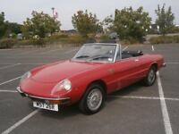 1976 ALFA ROMEO 2000 SPIDER CONVERTIBLE VELOCE KAMM TAIL CLASSIC CAR COLLECTORS
