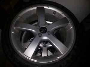 BR Racing rims 17 inch 4x 100mm bolt pattern.