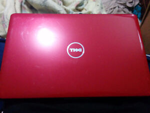 Dell labtop red