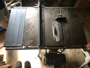 "Contractor Table Saw 10"" 1.5hp 220v"