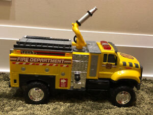 Tonka Mighty Motorized Tough Cab Fire Truck