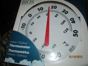 Outside Giant Thermometer  New in Box