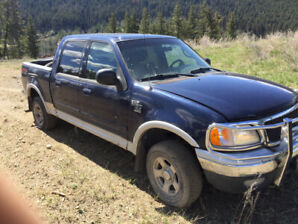 2002 Ford 150 crew cab 4x4