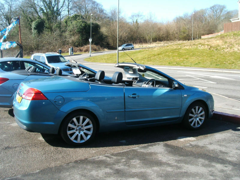 2008 ford focus cc 3 2 0 145ps 2d convertible coupe on offer in bridgend gumtree. Black Bedroom Furniture Sets. Home Design Ideas