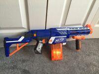 Nerf retaliator toy gun