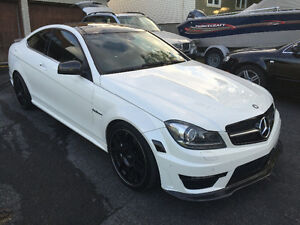 2012 Mercedes-Benz C63 AMG Coupe | Diamond White | 48,128 KM!