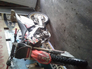 2006 crf 250r NO PAPERS