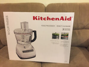 KitchenAid KFP1466WH 14-Cup Food Processor with Exact Slice Syst
