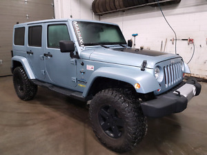 Jeep Wrangler Unlimited Sahara edition ARTIC