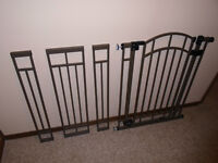 Extra tall steel baby gate.