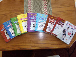 Set of Diary of a Wimpy Kid Books