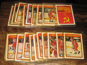 1990 Central Red Army Complete Set Hockey card Gatineau Ottawa / Gatineau Area image 1