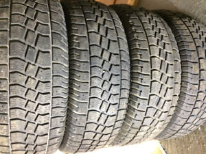 Avalanche winter tires
