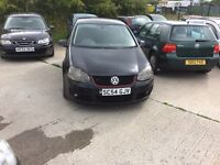 Vw golf gt tdi 2004 54 met black 1150