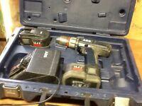 AEG 14.4v cordless drill