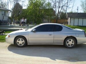 2000-07 monte carlo and s/s parts