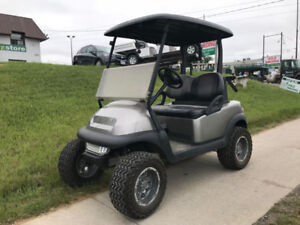 2012 Club Car Precedent Electric Lifted