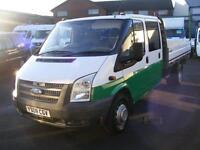 2008 Ford Transit 2.4 TDCi 350 L Crewcab Dropside Truck 4dr (Extended