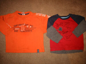 Boys size 3 Long sleeve Shirts and Spring Jackets