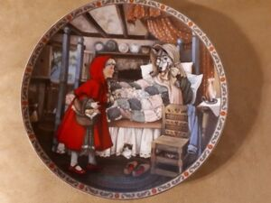 little red riding hood Knowles collector's plate