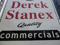 DEREK STANEX COMMERCAILS SELLING VANS IN BELFAST FOR LAST 50 YEARS,,Van Cars