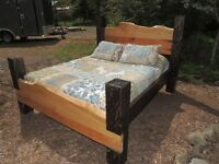 Hand crafted one of a kind beds by BC Co.