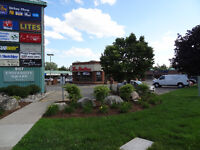 Retail commercial space at Kortright and Gordon